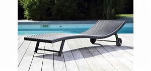Transat Resine Tressee : blog des meubles design autour de la piscine ~ Farleysfitness.com Idées de Décoration