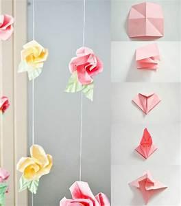 Origami Maison En Papier : fleurs origami facile ~ Zukunftsfamilie.com Idées de Décoration