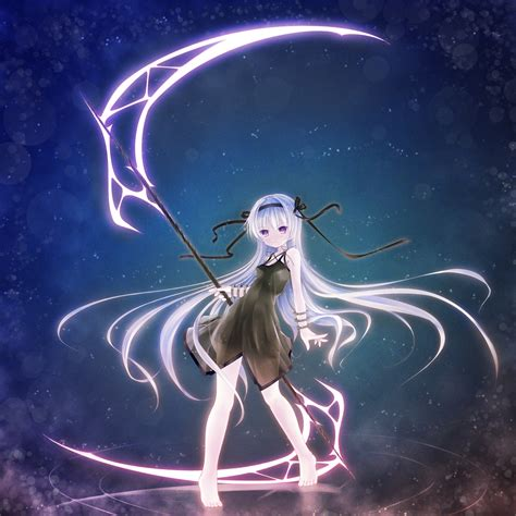 Anime Girl with Scythe