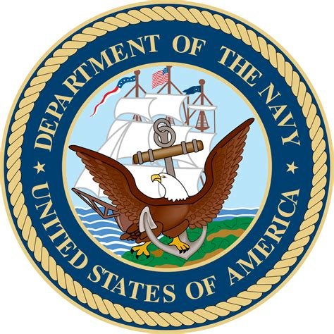 us bureau of file seal of the united states department of the navy svg