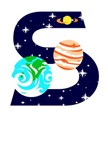 Space Theme Display Lettering By Cathyd  Teaching Resources Tes