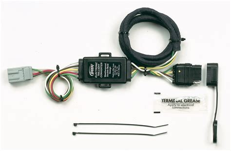 plug in trailer wiring harness hopkins towing solution 43105 plug in simple vehicle to