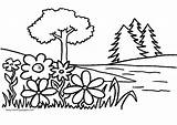 Coloring Garden Pages sketch template