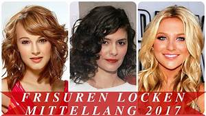 Frisuren Locken Mittellang : frisuren locken mittellang 2017 youtube ~ Frokenaadalensverden.com Haus und Dekorationen