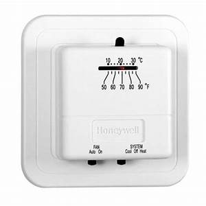 Honeywell Manual Heating  U0026 Cooling Thermostat At Blain U0026 39 S