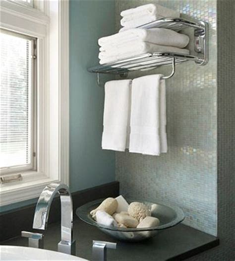 hotel towel rack this idea from your favorite hotel install a towel