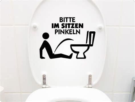 pin auf toilettenaufkleber wc deckel sticker