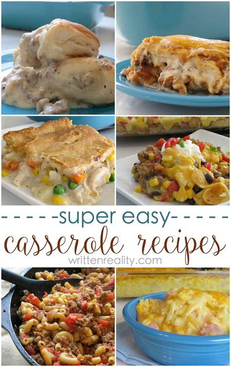 dinner casserole recipes easy easy dinner casserole recipes written reality