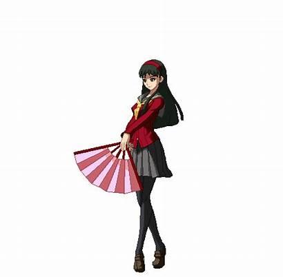 Persona Yukiko Amagi Arena Princess Tanuki Characters