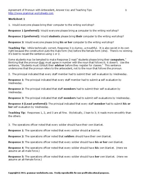 lessonagreementpronounantecedentanswerstips