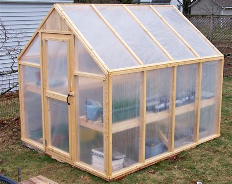 A greenhouse provides a place for your plants to grow in a controlled environment, right in your own backyard. How To Build A Simple Greenhouse | Home Design, Garden ...