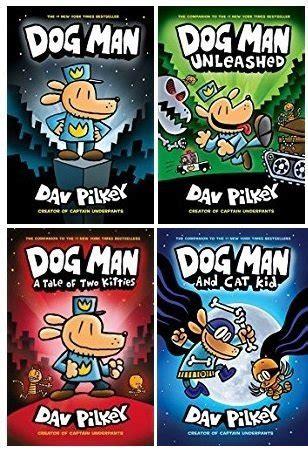 dogman  book set dog man  dav pilkey