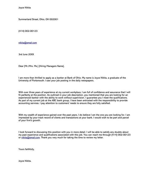 Save letter format for reactivation bank account. Banking Cover Letter Samples & Examples (Writing Guidelines)
