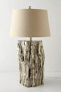 Lampe Mit Holzstamm : driftwood lamp manualidades pinterest selber machen treibholz lampe und lampen ~ Indierocktalk.com Haus und Dekorationen