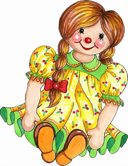 Doll Clipart Rag Clip Dolls Toy Cliparts