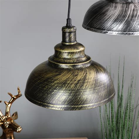 stylish industrial copper dome ceiling pendant light