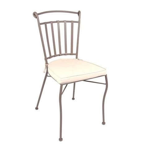 chaise achat chaise en fer forg 233 avec coussin