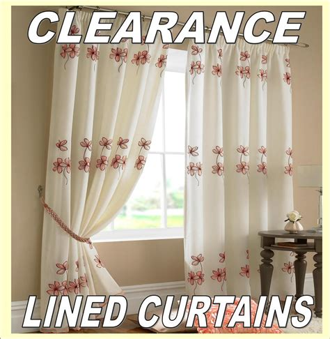 drapes clearance clearance sale lined curtains low prices