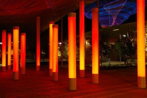 4wall systems creates custom light columns for
