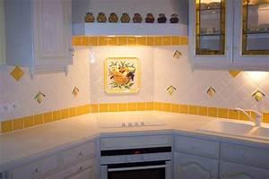 decoration faience pour cuisine obasinccom With decoration faience pour cuisine
