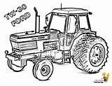 Tractor Coloring Pages Ford Yescoloring Boss Ic sketch template