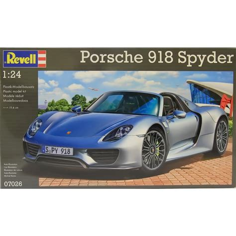 porsche model car revell 1 24 07026 porsche 918 spyder model car kit