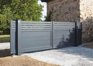 les 25 meilleures idees de la categorie portail coulissant With marvelous porte de maison prix 2 comment choisir un portillon en aluminium le portail alu