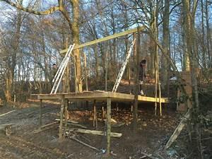 Cabane Dans Les Arbres Construction : la cabane sauvage week end en famille dans la nature ~ Mglfilm.com Idées de Décoration