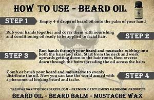 How To Use Beard Oil Instructions