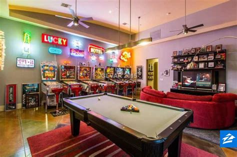 Get Ready To Lose Track Of Time In This Game Room From
