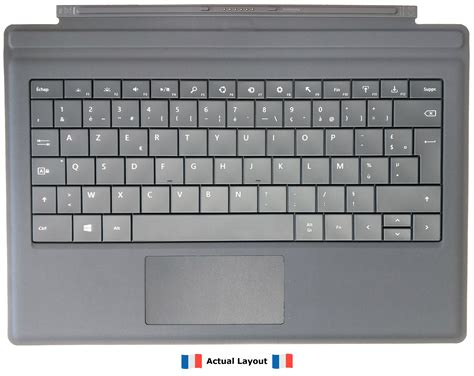 Microsoft Surface Pro 3 Type Cover With French Keyboard