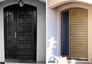 Porte Interieur Pas Cher Brico Depot : charmant porte d entree bois haus design ~ Dailycaller-alerts.com Idées de Décoration