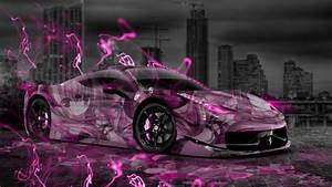 Ferrari 458 Italia Anime Aerography City Car 2014