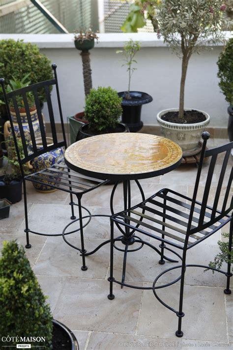 Chaises Et Table De Terrasse  Terrasses & Balcons Stylés