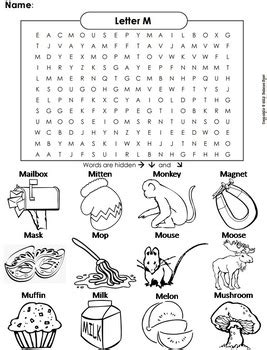 phonics worksheet beginning letter sounds letter of the
