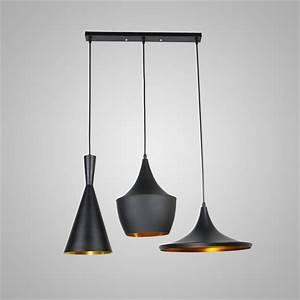 Suspension Style Industriel : luminaire suspension 3 lampes ca75 jornalagora ~ Teatrodelosmanantiales.com Idées de Décoration