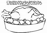 Coloring Thanksgiving Dinner Turkey Table Pages Printable Template Coloringpagebook Advertisement Templates Getcolorings Getcoloringpages sketch template