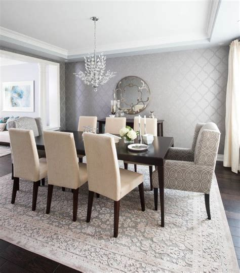 gray farmhouse table best 25 contemporary dining rooms ideas on
