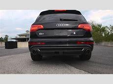 STaSIS Signature Series Audi Q7 30T exhaust system YouTube