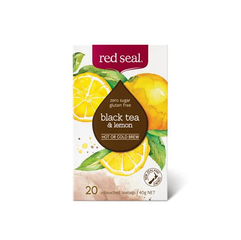 Black Tea Lemon Red Seal