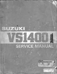 Intruder Vs 1400 Motorbike Service Manual Pdf  59 8 Mb