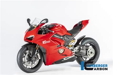 Ducati Panigale V4 Carbon Edition by Ilmberger Carbon Ducati Panigale V4 V4s En Speciale