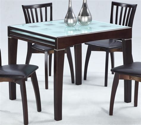 Counter Height Kitchen Tables, Black Glass Kitchen Table