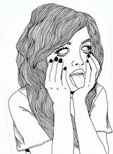 Grunge Drawing Outline Drawings Hipster Outlines Crazy Pinterst Stuff Pintrest Softgrunge sketch template