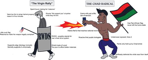 Chad Memes - radical chad 2017 unite the right rally know your meme