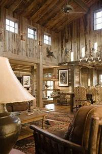 Love the barn look ... inside and out!