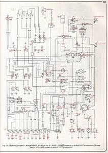 Austin Healey Sprite Mk1 Wiring Diagram