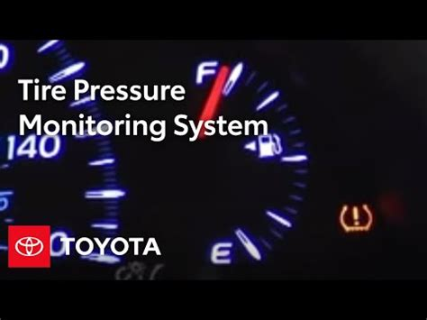 camry   tire pressure monitoring system