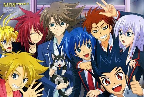 anime cardfight vanguard miwa and cardfight vanguard cardfight vanguard