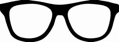 Glasses Cartoon Nerd Sunglasses Clip Template Star